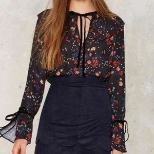 Endless Rose Floral Long Sleeve Top